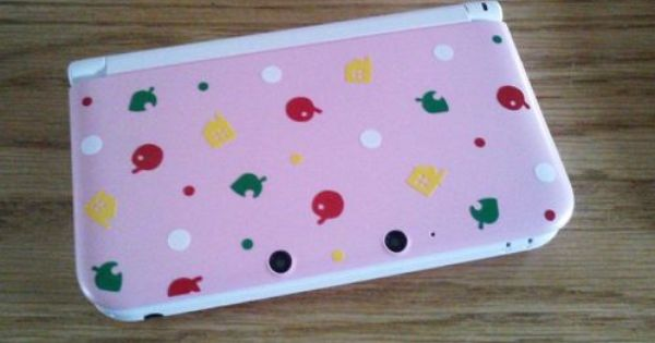 Animal Crossing 3ds Xl Vinyl Decal For Your Nintendo Game System