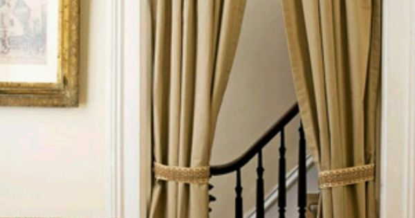 Unique ways of using drapery panels to decorate your home - Unique ways to hang curtains ...