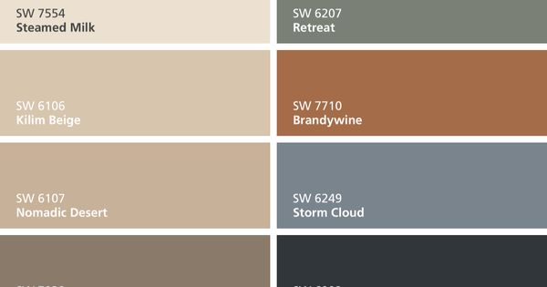 I Found These Colors With Colorsnap Visualizer For Iphone By Sherwin Williams Steamed Milk Sw