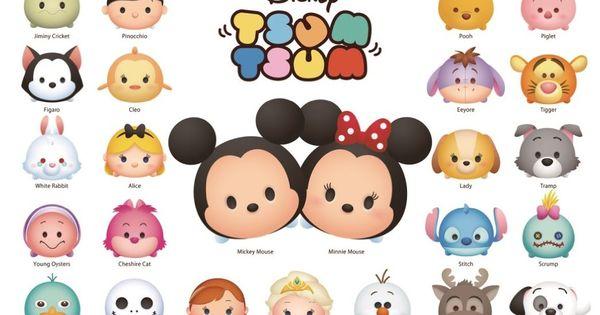 """ Disney Japan: Disney Tsum Tsum puzzle:) """