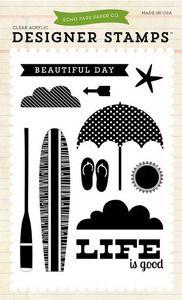 Sunny Summer Echo Park Paper Company Embossing Folder