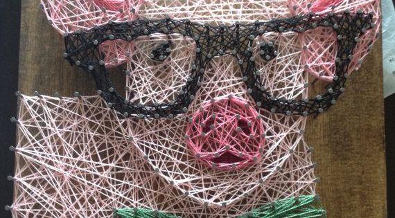 Nice Pig String Art By Http Www Nailartdesignexpert Xyz