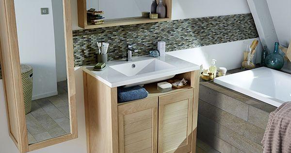 Grande salle de bain familiale massa castorama salle de bain pinterest - Etagere salle de bain castorama ...