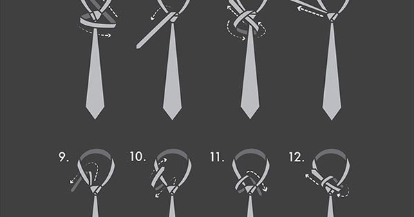 Eldredge Tie Knot - How to Tie a Eldredge Necktie Knot Eldredge