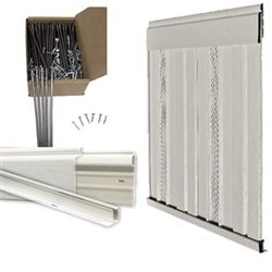 16x80 Single Wide Manufactured/Mobile Home Skirting Kit ... on complete modular home packages, mobile home kitchen packages, mobile home underpinning materials,