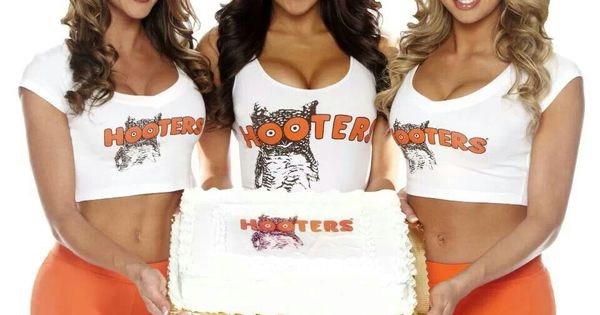 A Hooters Birthday Cake Hooters Pinterest