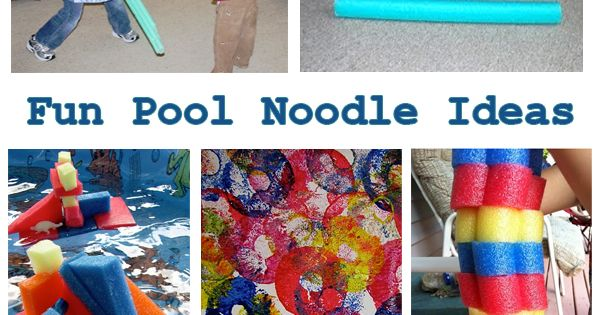 Summer is almost here. Grab the pool noodle and use it for