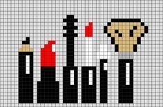 Makeup Pixel Art Dessin Quadrillage Dessin Pixel Et