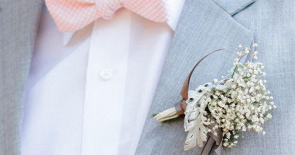 Wedding tie - photo