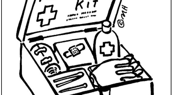 First Aid Coloring Page From Makingfriends Com Hand It