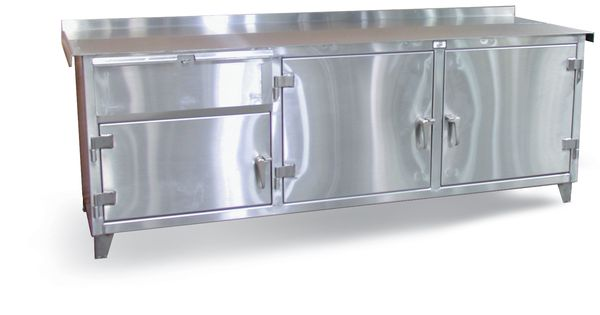Strong Hold Products Stainless Steel Cabinets Steel Workbench Stainless Steel Countertops