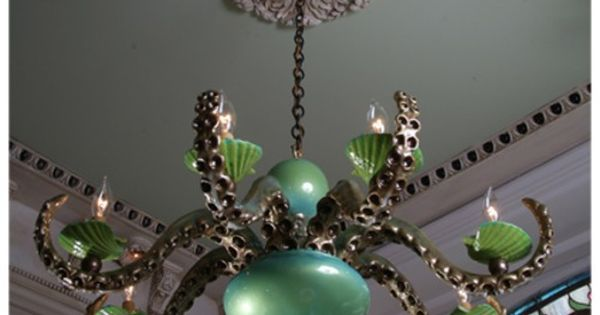 cephalopod chandalier: want this for my dream house