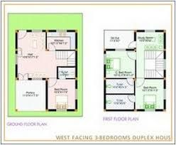 Image Result For West Facing Small House Plan Duplex House Plans Small House Plan House Plans