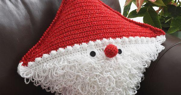 Yarnspirations.com - Bernat Santa Pillow - Patterns ...