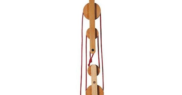 Block & Tackle Pulley Kit : Haba block tackle kit perfect for getting treasure up to the tree fort new house