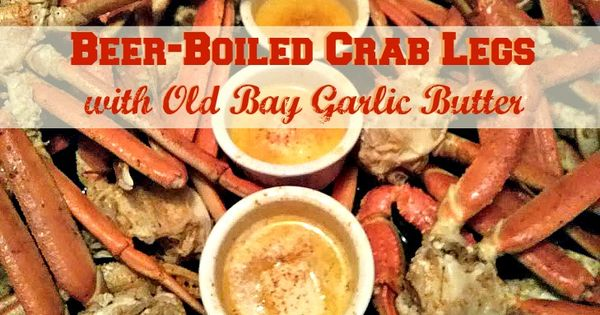 ... Crab Legs with Old Bay Garlic Butter | Recipe | Crab Legs, Crabs and