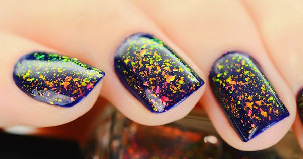 Electric Carnival is a must have! This Ultra Chrome Flakie nail polish