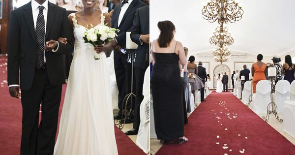 South african celebrity wedding dresses pictures