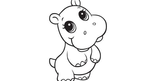 Hippopotamus Coloring Pages Cliparts And Pictures Cute Baby Hippos And Mommy Hippo Pic Zoo Animal Coloring Pages Animal Coloring Pages Mermaid Coloring Pages