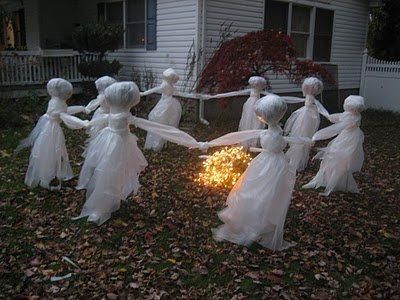 38++ Homemade halloween decorations ghosts inspirations