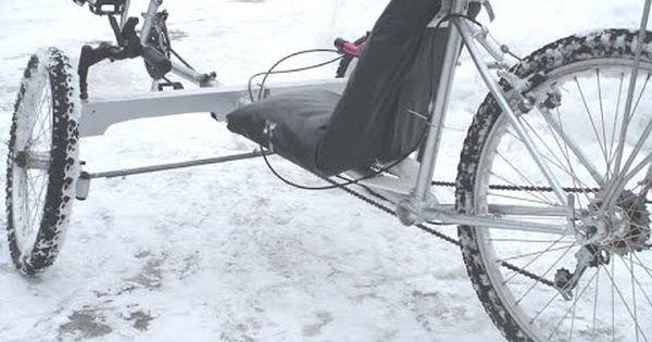 Diy Recumbent Bike Trike Tadpole Style Tricyle 4 Season Riding Recumbent Bicycle Trike Bike