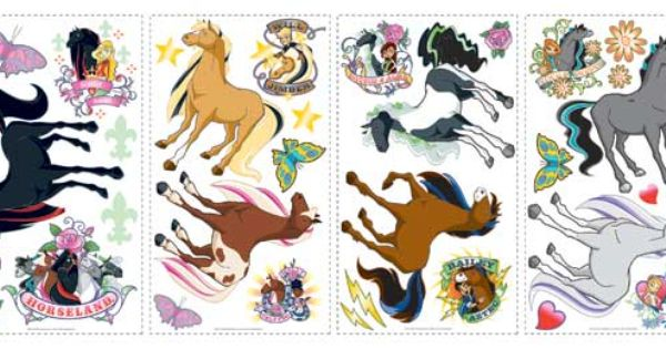 Horseland Wall Decals Movie Posters Image Poster