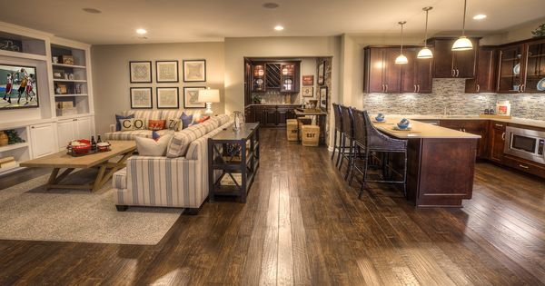 The upscale downstairs: Building a better basement - 9 Ideas