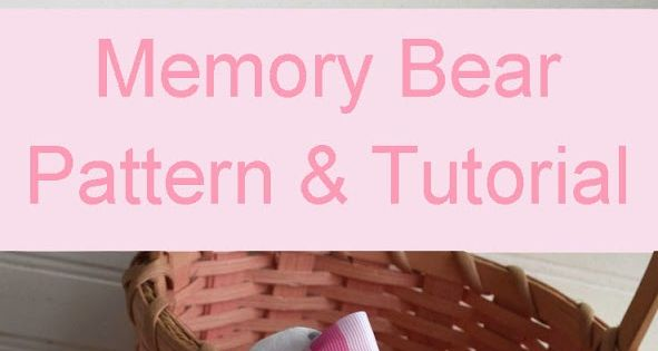 Pacountrycrafts Baby Clothes Memory Bear Pattern And