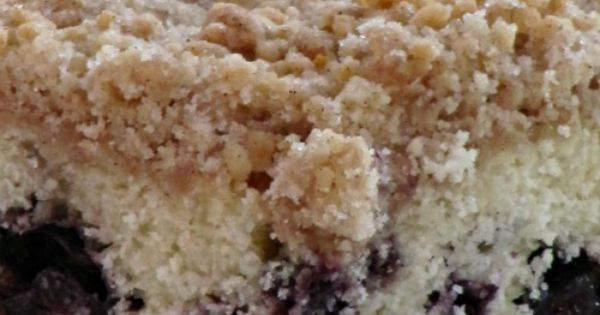 Coffee Cake with Crumble Topping | Breakfast | Pinterest | Crumble ...