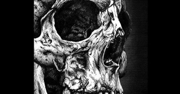"""Print 8x10"""" - Skull - Still Life Dark Art Bones Macabre ..."""