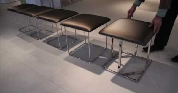 Transformable ottoman stools ottoman turns into 5 stools furniture