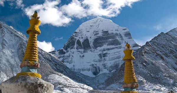 Mt. Kailash in Tibet; pillar of the world. It is ...  Mt. Kailash in ...