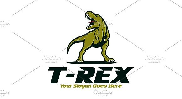 T-Rex Logo – suitable for businesses and product names