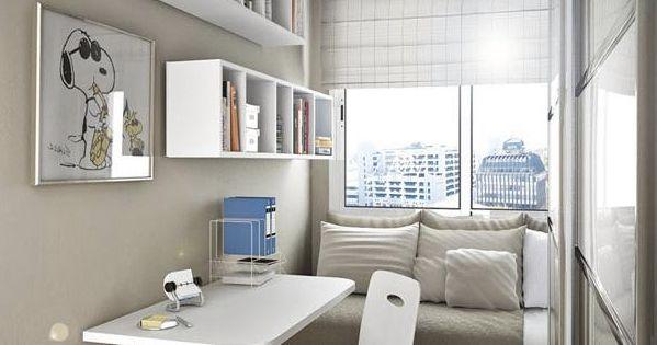 Departamento japon s debemos aprender de ellos casa - Escritorios para habitaciones pequenas ...