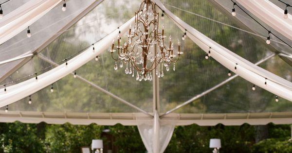 elegant tented reception   Olivia Griffin wedding