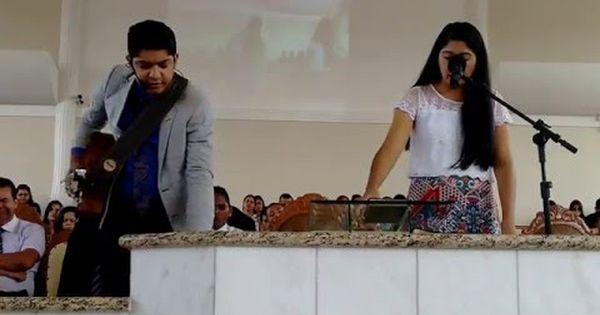 Claudia Cancao E Claudio Louvor Youtube Cancao Videos