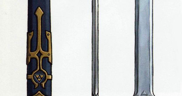 The Legend of Zelda: Twilight Princess. Link's Sword