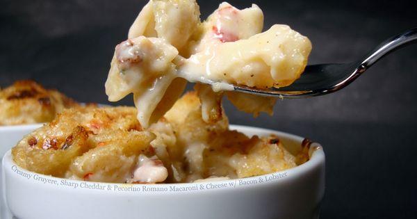 Creamy Gruyere, Sharp Cheddar and Pecorino Romano Macaroni ...