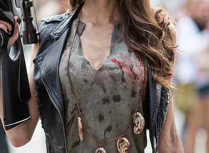 The female Daryl from the Walking Dead. I think this could be