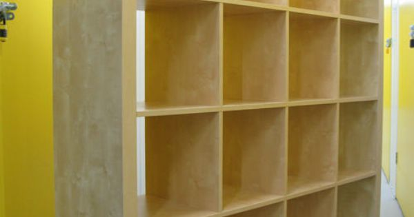 Genius Idea Ikea Expedit Shelves With Baskets For Storage: IKEA Expedit Birch 4x4 Shelving Bookcase Storage Wall Unit