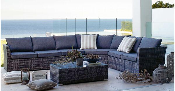 Phuket wicker corner sofa set for the home pinterest for Outdoor furniture phuket
