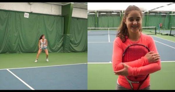 Ibotube Com Video 72070 Elizabeth Rozin Tennis Recruiting Video Fall 201 Aspx Tennis Sports Sport Online