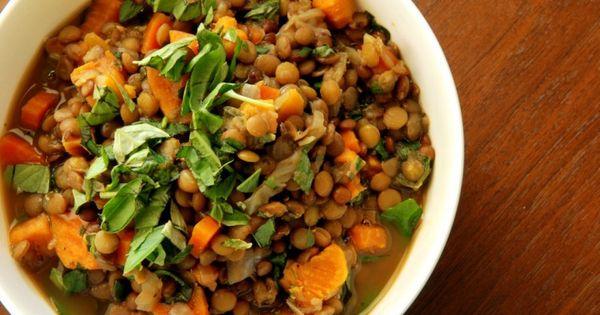 Lentil and Basil Soup | Make it. Eat it. | Pinterest | Lentils ...