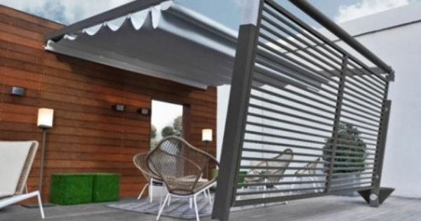 Pergotenda Awning By Corradi Makes The Summer Even Better Modern Patio Pergola Modern Pergola
