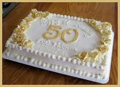 All Buttercream Dusted With Gold Sparkle Dust 50th Anniversary