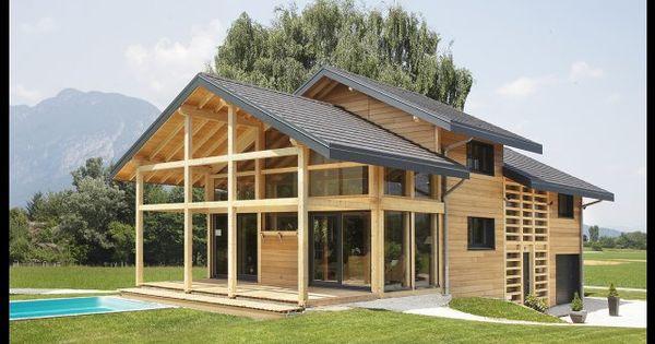 myotte duquet architecture bois reportage construction maisons ossature bois poteau poutre et. Black Bedroom Furniture Sets. Home Design Ideas