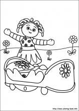 In The Night Garden Coloring Pages On Coloring Book Info Garden Coloring Pages Coloring Pages Fairy Coloring Pages