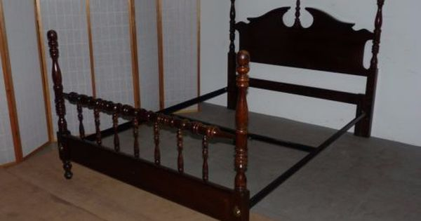 Vintage Kincaid Traditional Solid Cherry Queen Full Headboard Bed Frame 110219 Full Headboard Bed Frame Bed