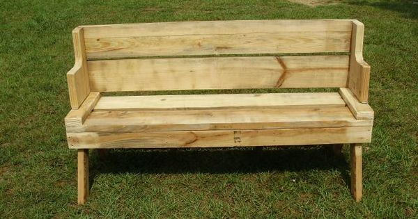 The Back To This Bench Flips Forward And It Turns Into A Tabletop For A Picnic Table Genius