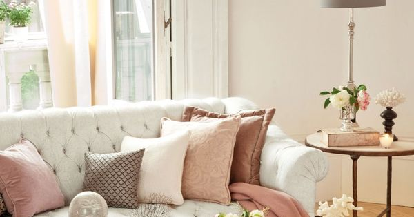 Soft feminine palette decoraci n salones pinterest for Pinterest decoracion salones